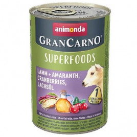 400 Gr Gran Carno Superfood Kuzu+Amarant, Kızılcık, Somon Yağı