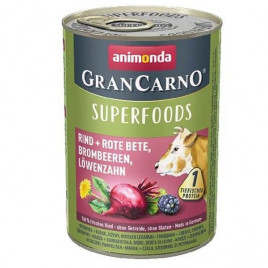 400 Gr Gran Carno Superfood Sığır+Pancar, Böğürtlen, Karahindiba