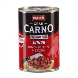 Gran Carno Junior Sığır Eti + Hindi Yüreği 6x400 Gr