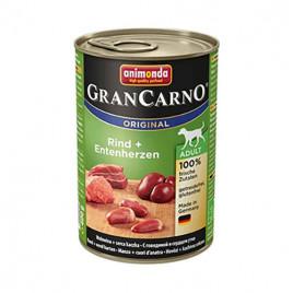 Gran Carno Adult Sığır Eti + Ördek Kalbi 6x400 Gr
