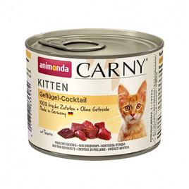 Kitten Carny Kümes Hayvanlı Yavru Kedi Konserve 6x200 Gr