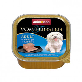 Vom Feinsten Adult Kümes Hayvanlı + Morina Balıklı 150 Gr
