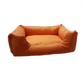 Dış Mekan Köpek Yatağı Turuncu 80x60 Cm