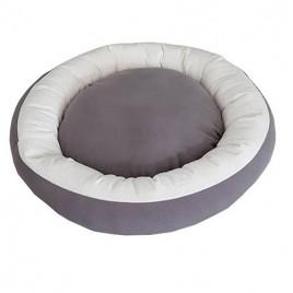 Simit Kedi Köpek Yatağı Gri Gri