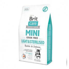 2 Kg Mini Light & Sterilised Grain Free Rabbit & Salmon