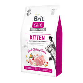Cat Grain-Free Kitten Healthy Growth and Development Fresh Chicken & Turkey 2 Kg