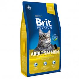 Brit Premium 8 Kg Cat Adult Salmon