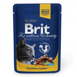 Brit Premium Cat Pouches Somon & Alabalık 100 Gr