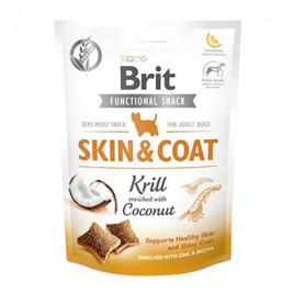 Dog Functional Snack Skin & Coat Krill 150 Gr