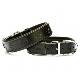3,5x60 Cm Comfort Deri Boyun Tasması Siyah