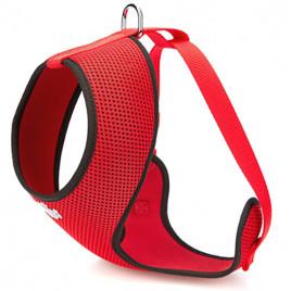 1,5x25-35 Cm Dokuma Havalı Junior Göğüs Tasması Kırmızı
