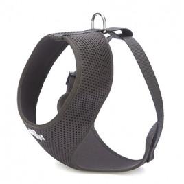 Dokuma Havalı Junior Göğüs Tasması 1,5x25-35cm Black