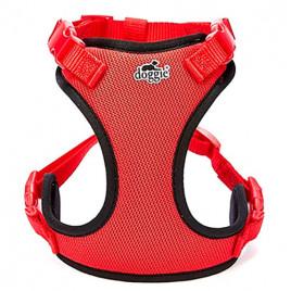 Havalı Ped Dokuma Göğüs Tasması 2x45-55cm Red