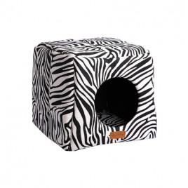 3D Kulübe Vr01 Siyah Zebra
