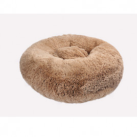 Brownie Yuvarlak Yatak L Camel 70x22 Cm