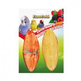 EuroGold 2'li Mürekkep Balığı Kemiği Meyve Aromalı 15Cm