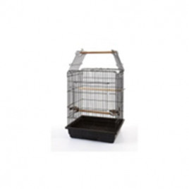 Papağan Kafesi Açılır Çatılı Pirinç 64x54x72