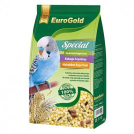 EuroGold 500 Gr Special Kabuksuz Muhabbet Kuşu Yemi