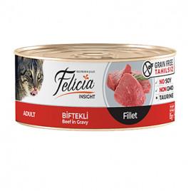 Tahılsız Biftekli Fileto 24x85 Gr