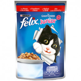 Felix 100 Gr Junior Sığır Etli Yavru