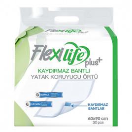Flexi Life Kaydırmaz Bantlı Çiş Pedi 60x90 Cm 30 Adet