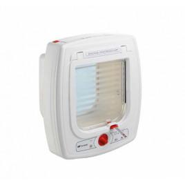 Swing Microchip Mikroçipli Akıllı Kedi Kapısı Beyaz