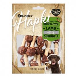 Hapki Kuzulu Pirinçli Dumbell Köpek Ödülü 150 Gr