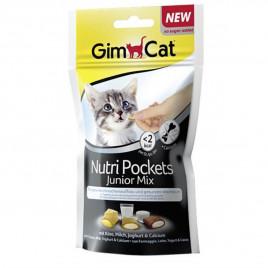 GimCat 60 Gr Nutri Pockets Junior Mix