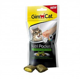 GimCat Nutri Pockets with Catnip and Multi-Vitamin 60 Gr