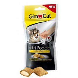 GimCat 60 Gr Nutri Pockets Cheese & Taurine
