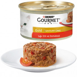 85 Gr Savoury Cake Beef & Tomatoes
