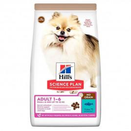 Hill's 1,5 Kg Science Plan Adult No Grain Small & Mini Tuna