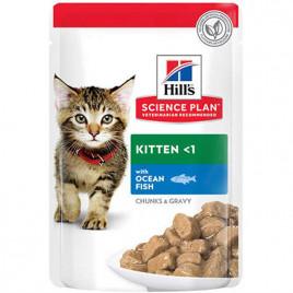 Hill's Science Plan 85 Gr Kitten Ocean Fish