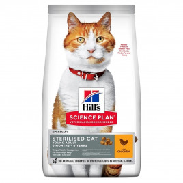 Hill's Science Plan Young Adult Sterilised Chicken 10 Kg