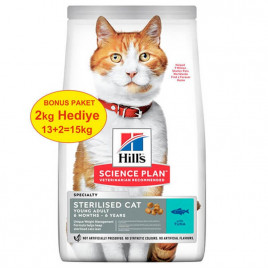 Hill's Science Plan Young Adult Sterilised Tuna 13+2 Kg