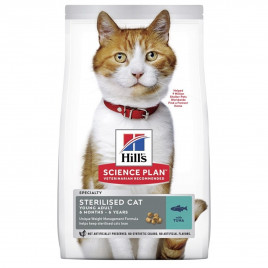 Hill's Science Plan Young Adult Sterilised Tuna 3 Kg