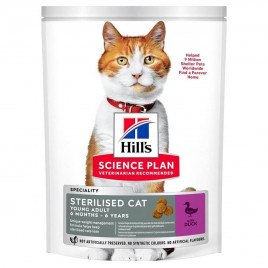 Hill's Science Plan Young Adult Sterilised Duck 10 Kg