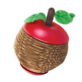 Elma Şeklinde Kediotlu Tırmalama Oyuncak 9 Cm