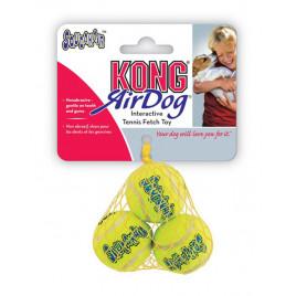 Köpek Air Sq Sesli Tenis Topu XS 3 Adet 4 Cm