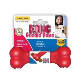 Kong S Kırmızı Kauçuk Oyuncak Kemik 5 Cm