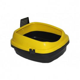 Pet Style Açık Kedi Tuvaleti Sarı 49,5x40x22 Cm
