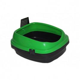 Pet Style Açık Kedi Tuvaleti Yeşil 49,5x40x22 Cm