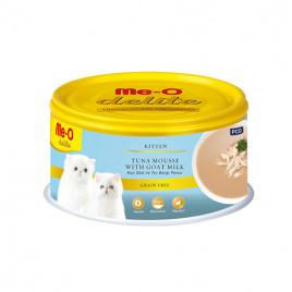 MeO Delite Keçi Sütü & Ton Balık Ezme Yavru Kedi Konservesi 6x80 Gr