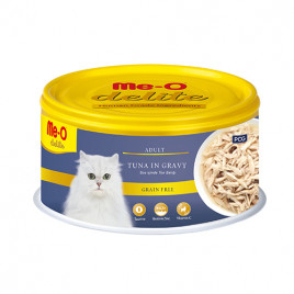 Me-O 80 Gr Delite Adult Tuna in Gravy