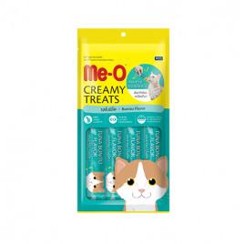 Me-O 4x15 Gr Creamy Treats Bonito Flavor