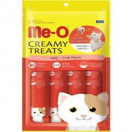 Me-O 4'lü Yengeçli Tamamlayıcı Kedi Besini 15 Gr