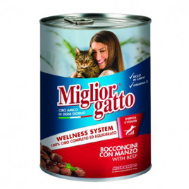 Gatto 405 Gr Chunks With Beef