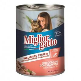 Gatto Somon Balıklı Kedi Konservesi 6x405 Gr