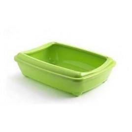 Aristo Açık Kedi Tuvalet Kabı Yeşil 42 Cm