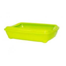 Aristo Açık Kedi Tuvalet Kabı Yeşil 50 Cm